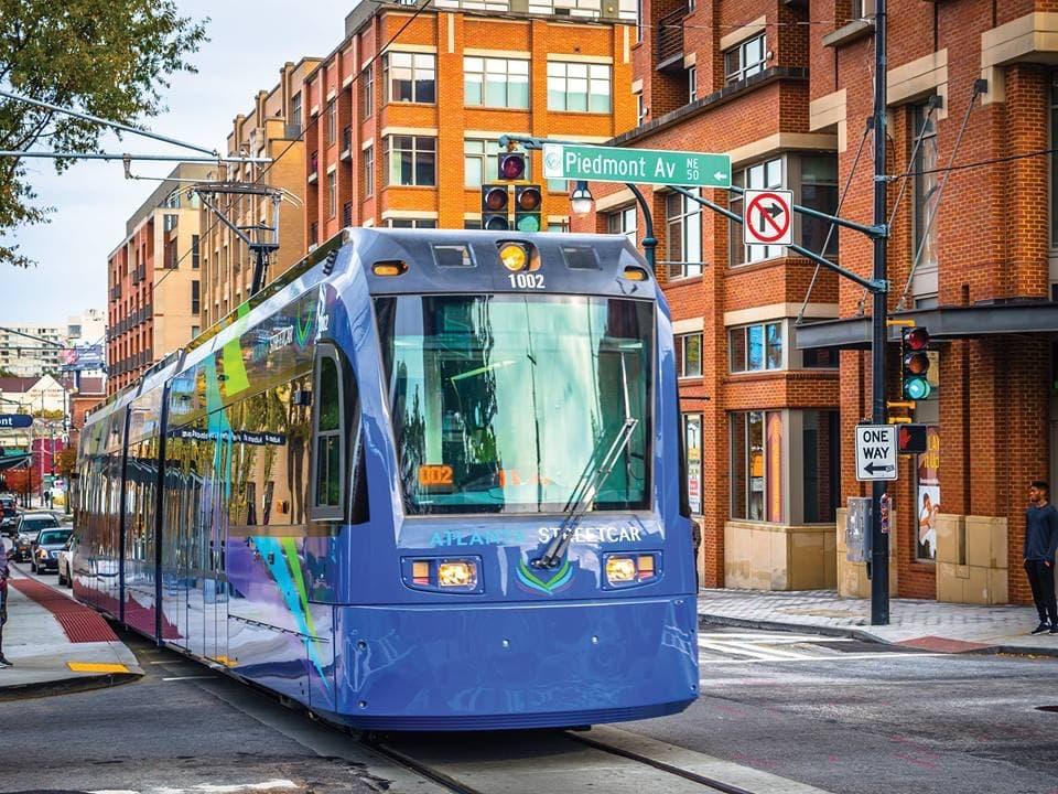 Sites Along the Atlanta Streetcar