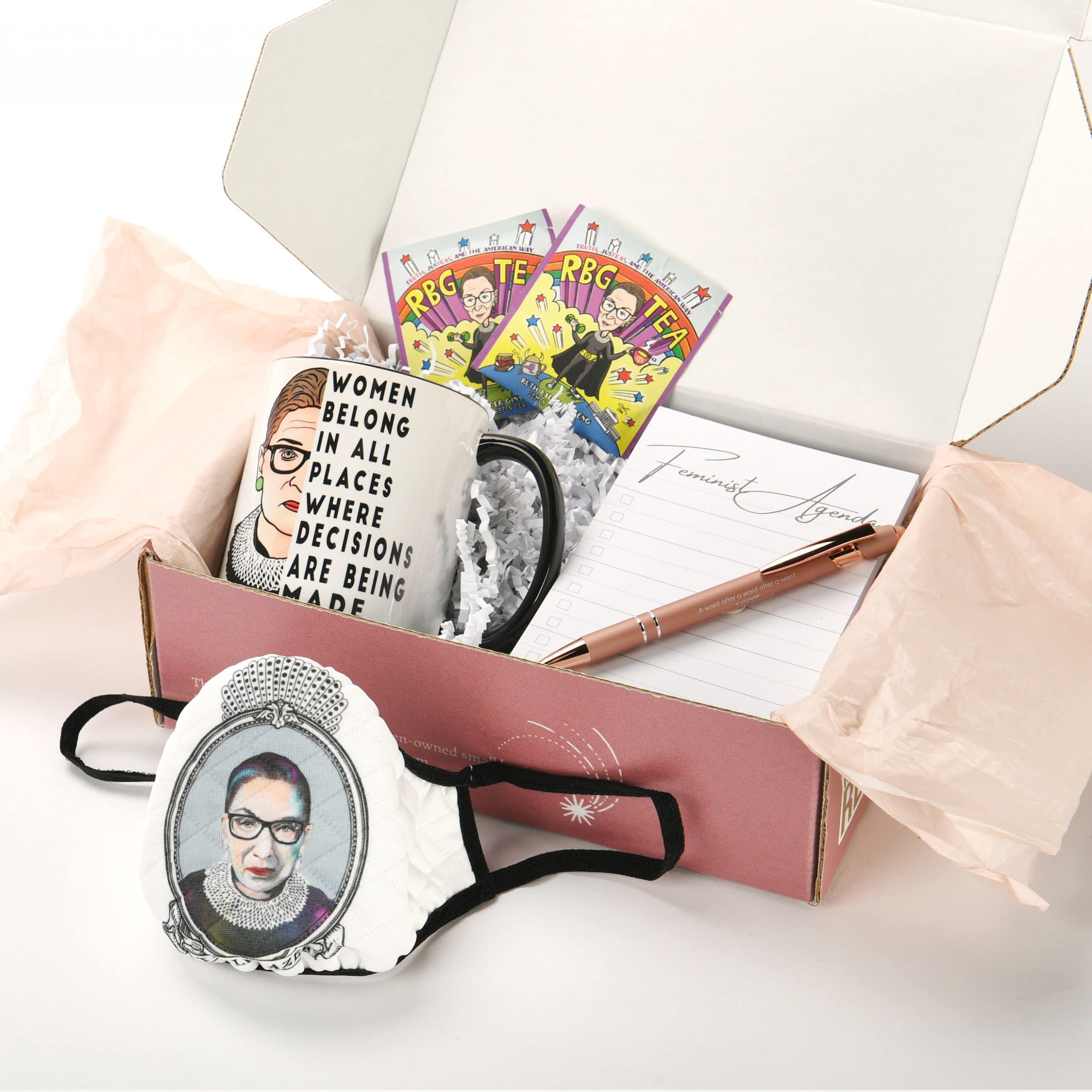 Ruth Bader Ginsburg gift box