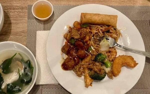 Harmony Vegetarian Kung Pao Best Vegetarian Restaurants in Atlanta