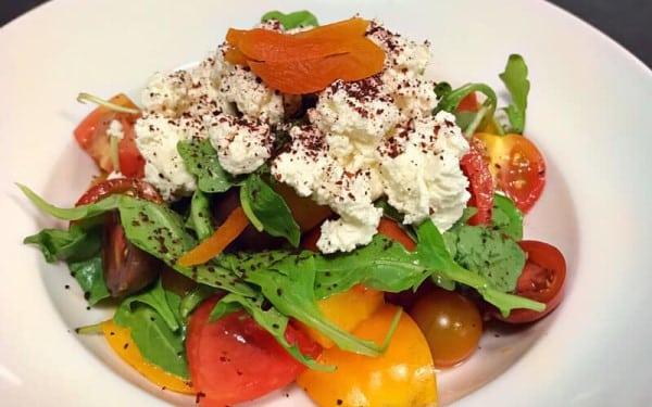 Heirloom Tomato Salad Mediterranea