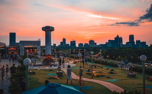 Skyline Park Outdoor Atlanta Team-Building Ideas
