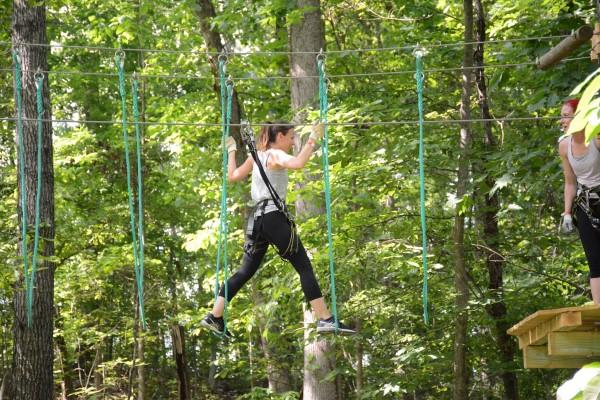 Zipline Treetop Quest Outdoor Atlanta Team-Building Ideas