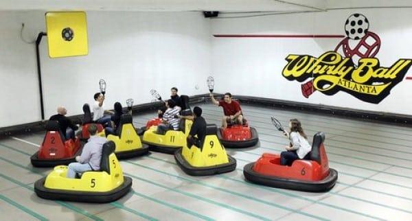 Whirlyball Atlanta Team Building